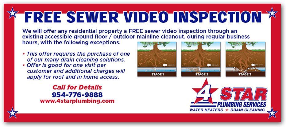 Free Sewer Video Inspection