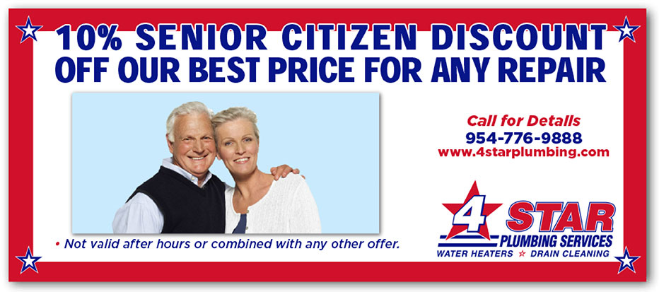 10% Senior Citizen Discount Off Our Best Price for any repair