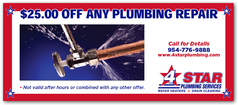$25.00 Off any plumbing repair