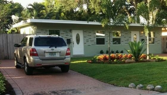 Broward Housing Solutions House with Car